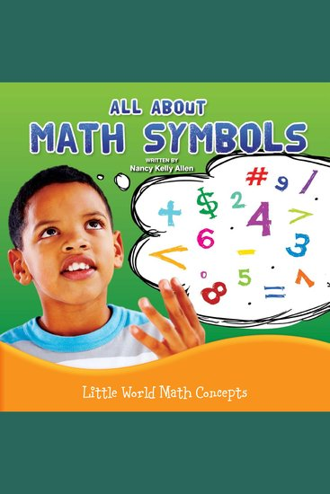All About Math Symbols - cover
