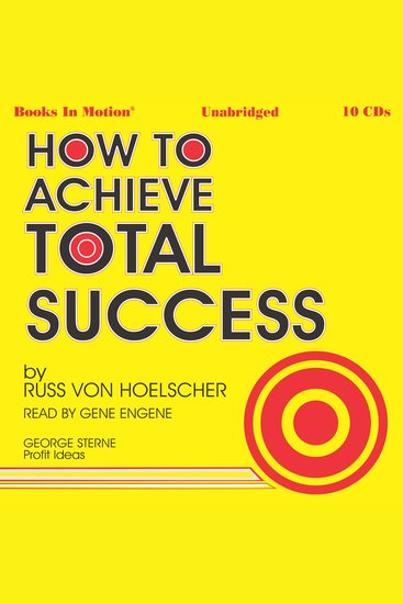 How To Achieve Total Success - cover