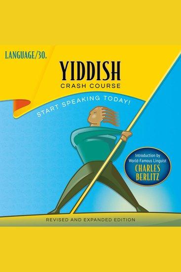 Yiddish Crash Course - cover