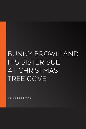 Bunny Brown and his Sister Sue at Christmas Tree Cove - cover