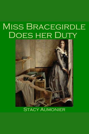 Miss Bracegirdle Does Her Duty - cover