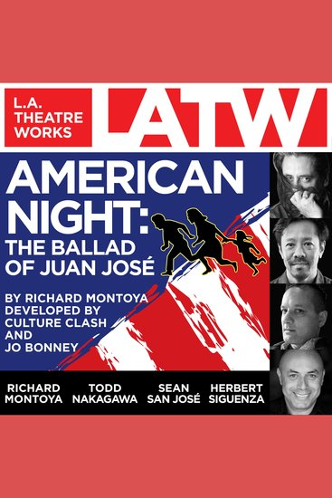 American Night: The Ballad of Juan Jose - cover