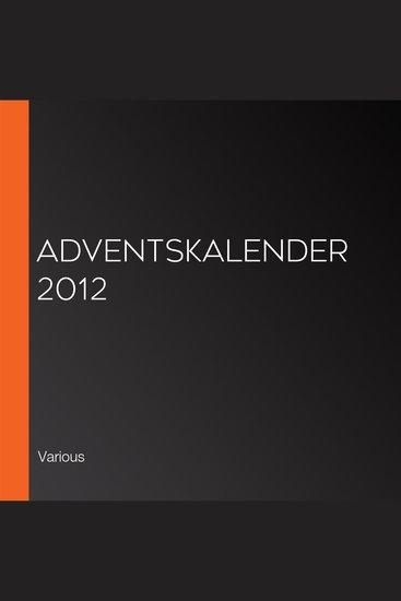 Adventskalender 2012 - cover