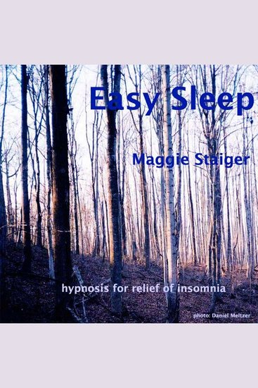 Easy Sleep - Hypnosis for Relief of Insomnia - cover