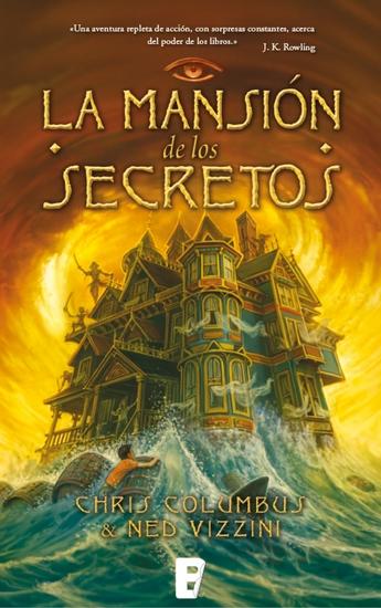 La mansión de los secretos - cover