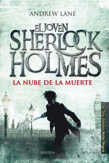 La nube de la muerte - El joven Sherlock Holmes - cover