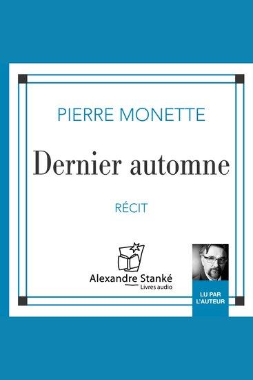 Dernier automne Last Autumn - cover