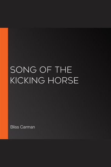 Song of the Kicking Horse - cover
