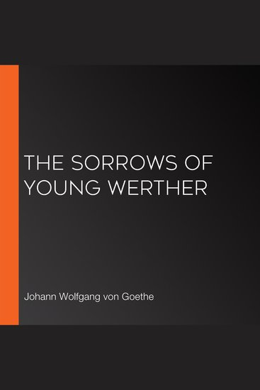The Sorrows of Young Werther - cover