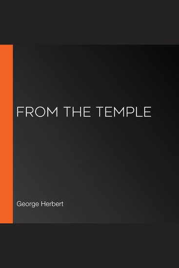 From The Temple - cover