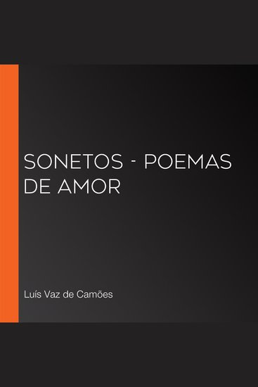 Sonetos - Poemas de Amor - cover