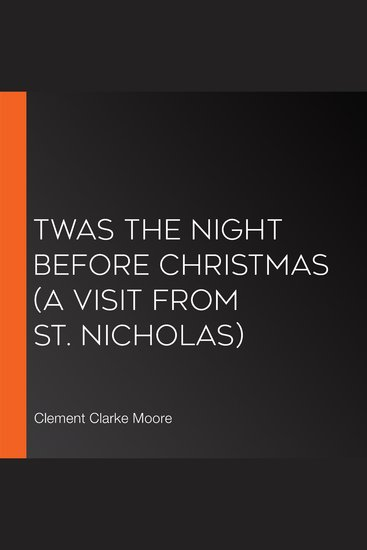 Twas the Night Before Christmas (A Visit From St Nicholas) - cover