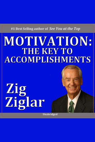 Motivation - The Key to Accomplishments - cover