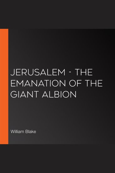 Jerusalem - The Emanation of the Giant Albion - cover