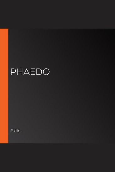 Phaedo - cover