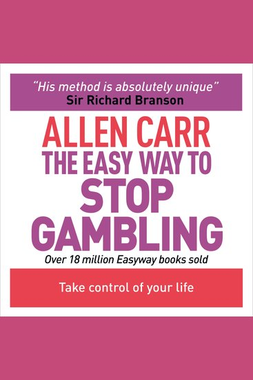 The Easy Way to Stop Gambling - cover
