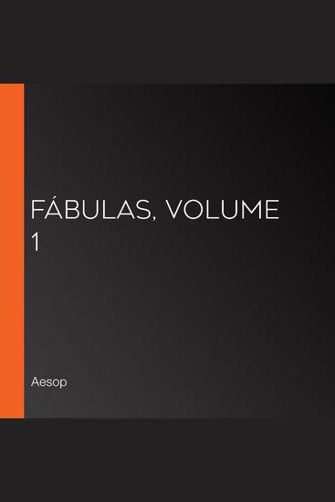 Fábulas volume 1 - cover