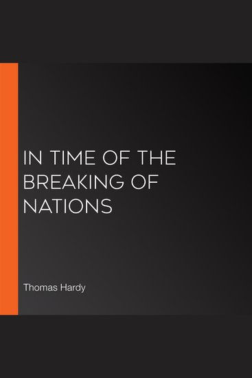 In Time Of The Breaking Of Nations - cover
