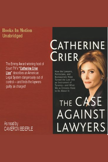 The Case Against Lawyers - cover