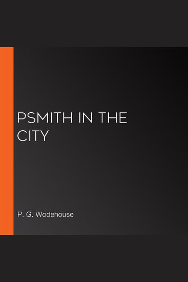 Psmith in the City - cover