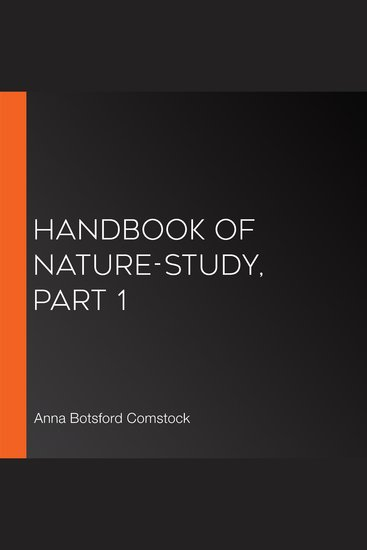 Handbook of Nature-Study Part 1 - cover