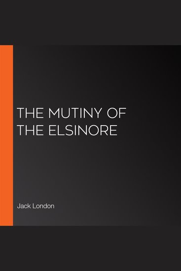The Mutiny of the Elsinore - cover