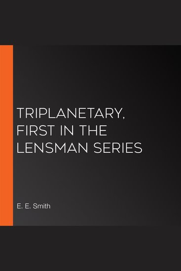 Triplanetary First in the Lensman Series - cover