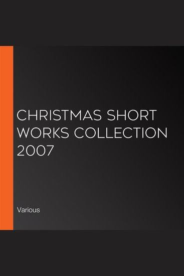 Christmas Short Works Collection 2007 - cover