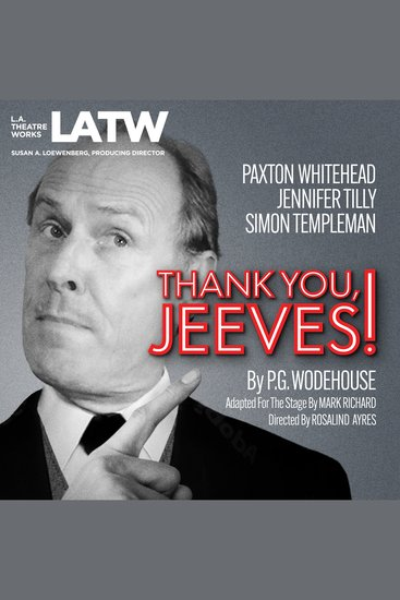 Thank You Jeeves - cover