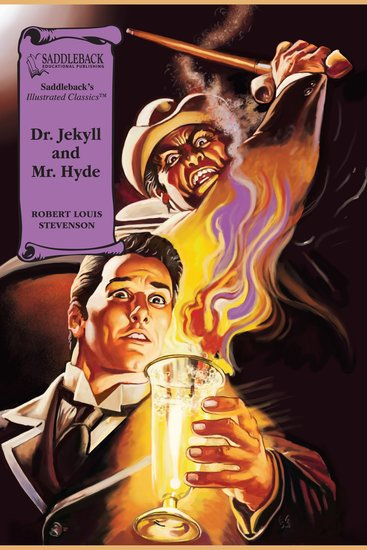 Dr Jekyll and Mr Hyde (A Graphic Novel Audio) - Illustrated Classics - cover
