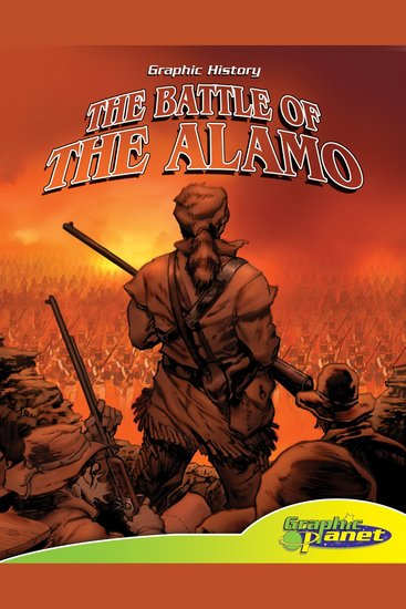 The Battle of the Alamo - cover