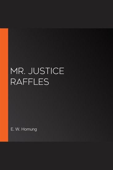 Mr Justice Raffles - cover