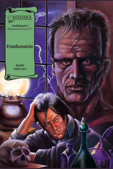 Frankenstein (A Graphic Novel Audio) - Illustrated Classics - cover