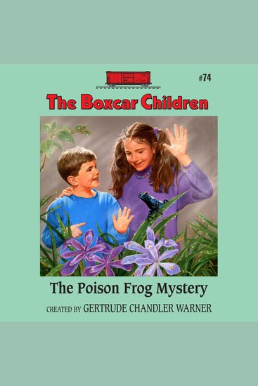 The Poison Frog Mystery - cover