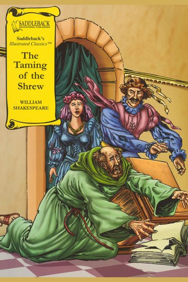 Taming of the Shrew The (A Graphic Novel Audio) - Graphic Shakespeare - cover