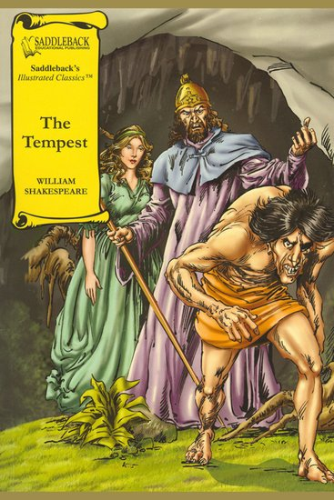 Tempest The (A Graphic Novel Audio) - Graphic Shakespeare - cover