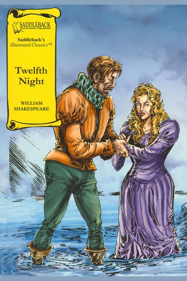Twelfth Night (A Graphic Novel Audio) - Graphic Shakespeare - cover