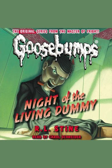 Classic Goosebumps - Night of the Living Dummy - Night of the Living Dummy - cover