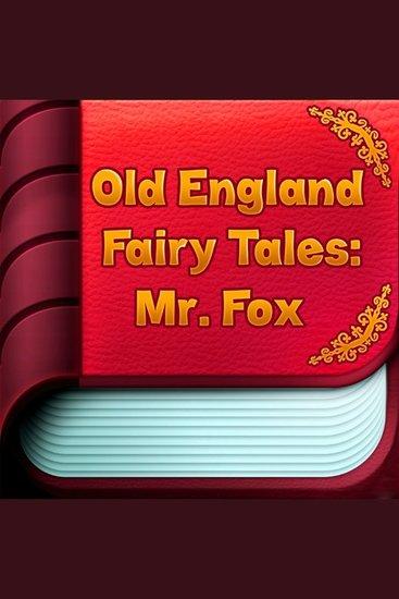 Mr Fox - cover