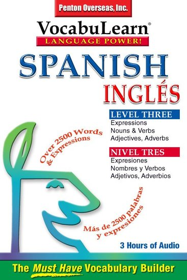 Spanish English Level 3 - Bilingual Vocabulary Audio Series - cover