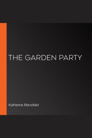 The Garden Party - cover