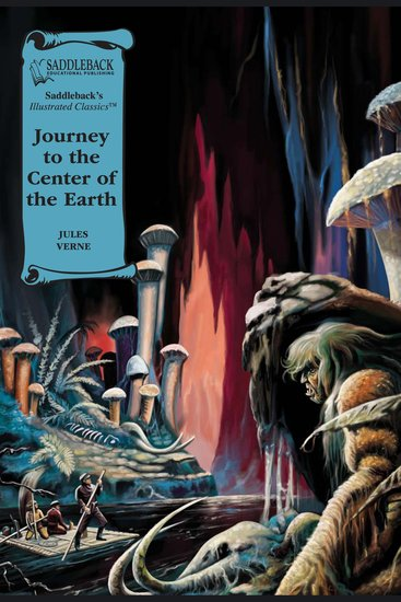 Journey to the Center of the Earth (A Graphic Novel Audio) - Illustrated Classics - cover