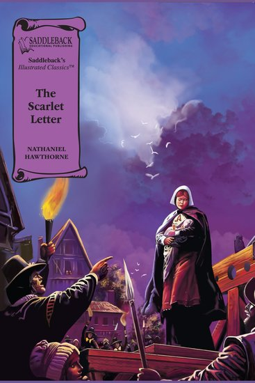 Scarlet Letter The (A Graphic Novel Audio) - Illustrated Classics - cover
