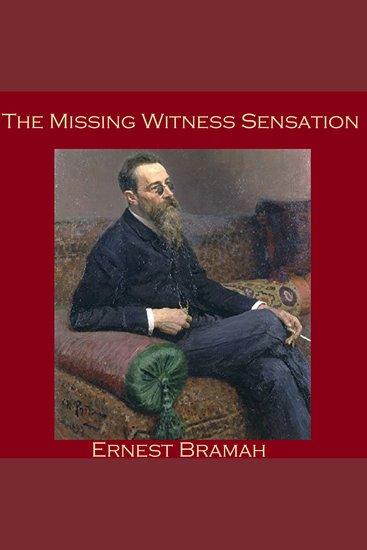 The Missing Witness Sensation - cover