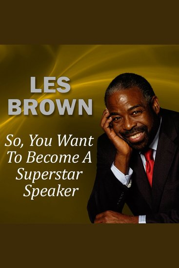 So You Want to Become a Superstar Speaker? - cover