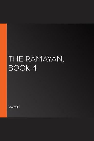 The Ramayan Book 4 - cover