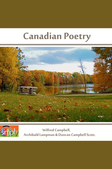 Canadian Poetry - The Oxford Book of Verse 1913 - cover