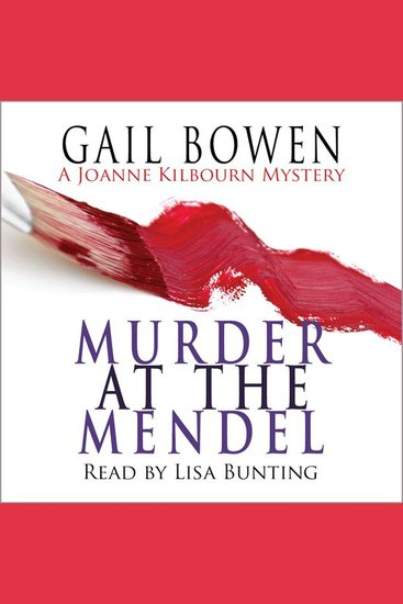 Murder at the Mendel - cover