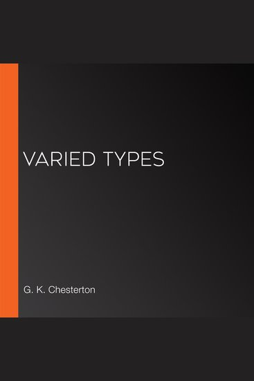 Varied Types - cover