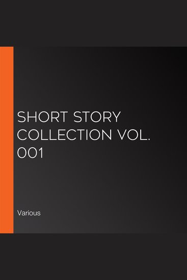 Short Story Collection Vol 001 - cover